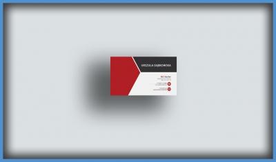 Projekt i wydruk wizytówek